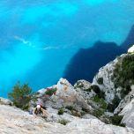 """Un autre """"spot à photos"""": la magnifique fin de la traversée, au moment de remonter sur le plateau"""