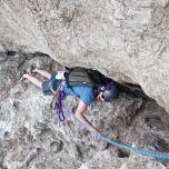 Camping acrobatique pour éviter la difficulté!